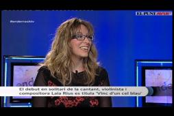 """A Enderrock TV, presentant """"Vinc d'un cel blau"""""""
